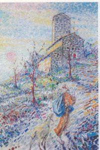 Eremitorio de Acquarela. O. Marziali, 1965