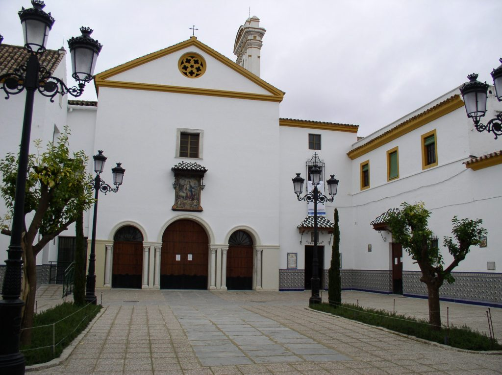 Patio de ingreso al convento de Sevilla