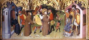 Francisco de Asís ante el Sultán