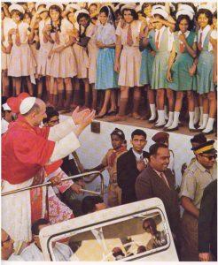 Pablo VI en las calles de Bombay
