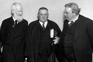 George Bernard Shaw, Hilaire Belloc y Chesterton