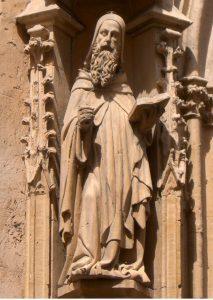 Ramón Llull en la iglesia de San Miguel de Palma, 1398