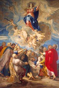 La Asunción de la Virgen. Peter Rubens