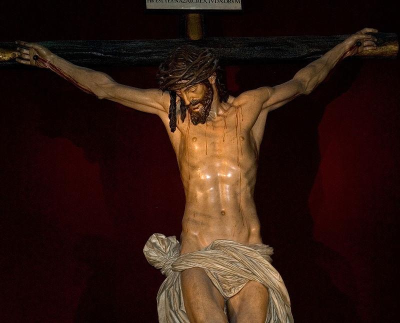 Cristo de los cálices. M. Montañés, 1604. Catedral de Sevilla