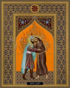 San Francisco y el Sultán Al-Kamil