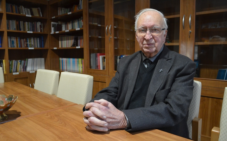 Arzobispo emérito de Argel, monseñor Henri Teissier