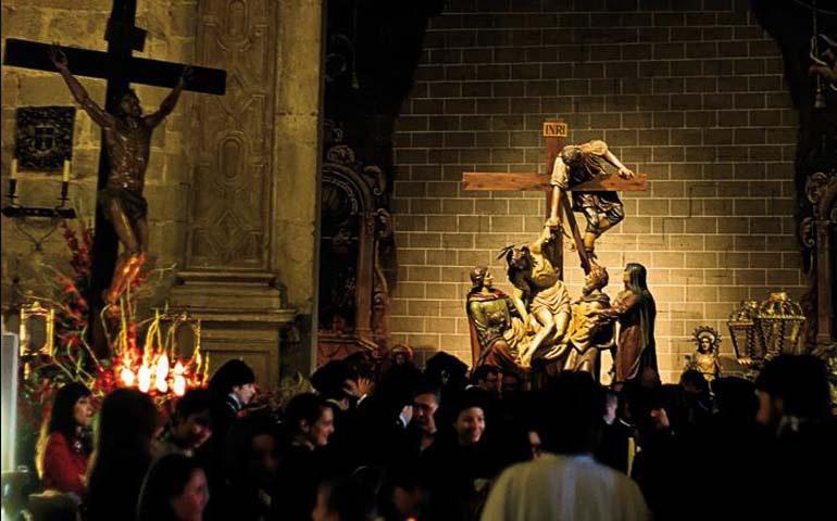 Procesión del Santo Entierro en Barbastro