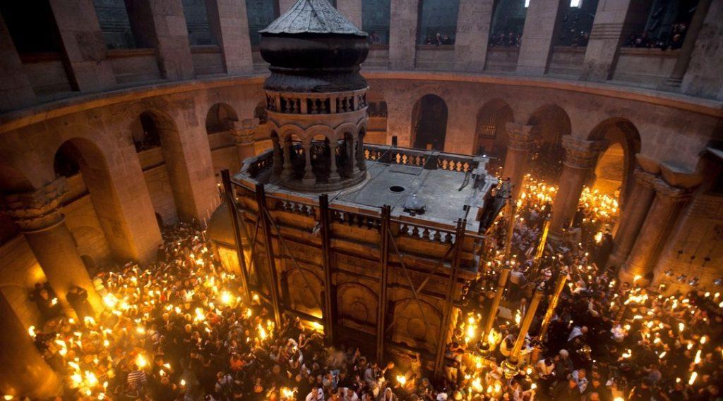 Restauración del Santo Sepulcro