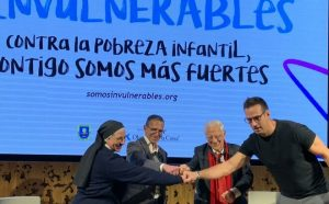 Campaña #Invulnerables contra la pobreza infantil