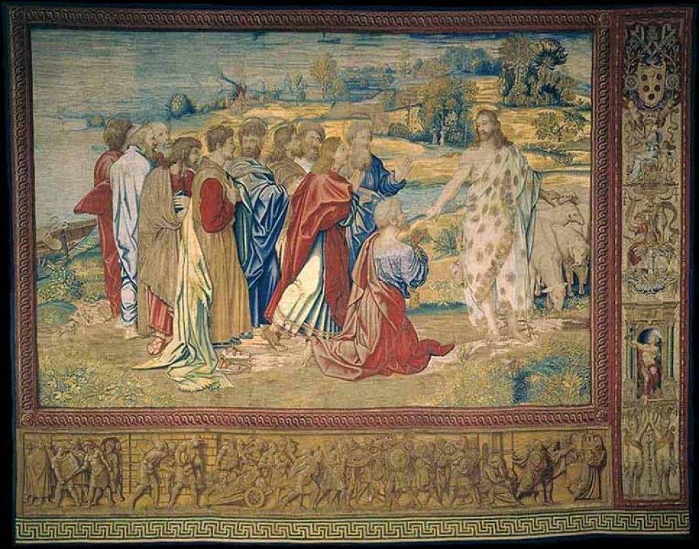 Jesús entregando las llaves a Perdro