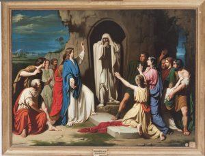 Resurrección de Lázaro. José Casado del Alisal