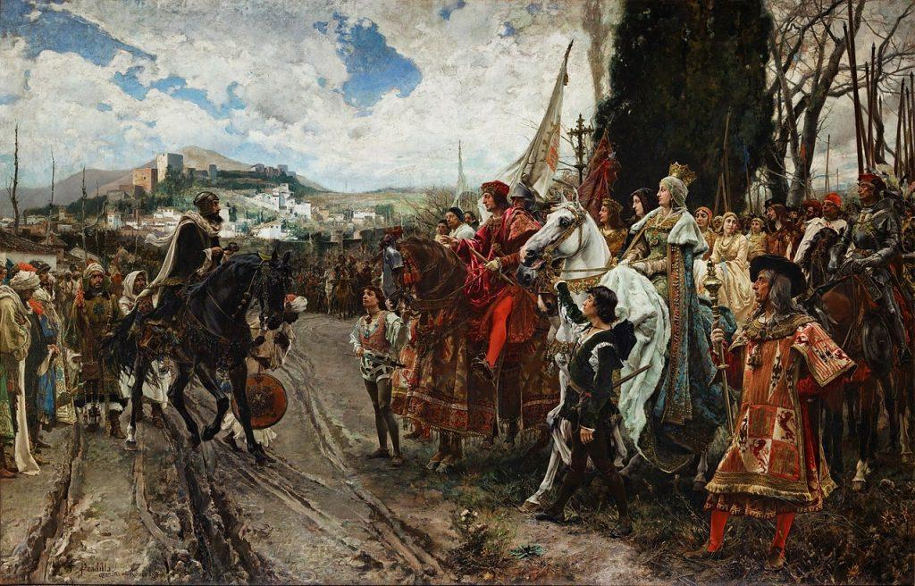 La Rendición de Granada. Francisco Pradilla, 1882. Palacio del Senado