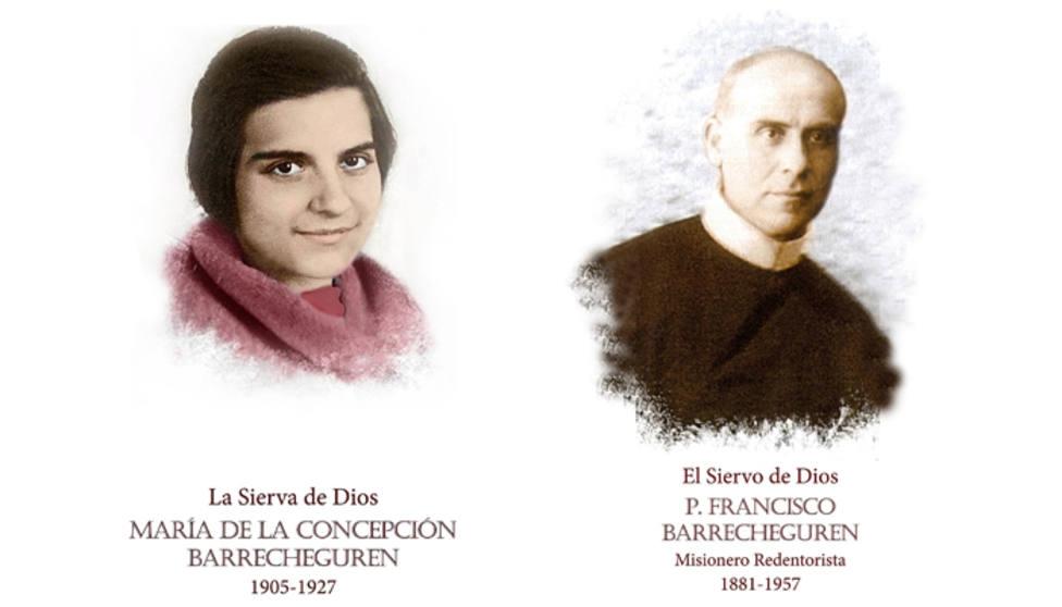 Conchita Barrecheguren y Francisco Barrecheguren