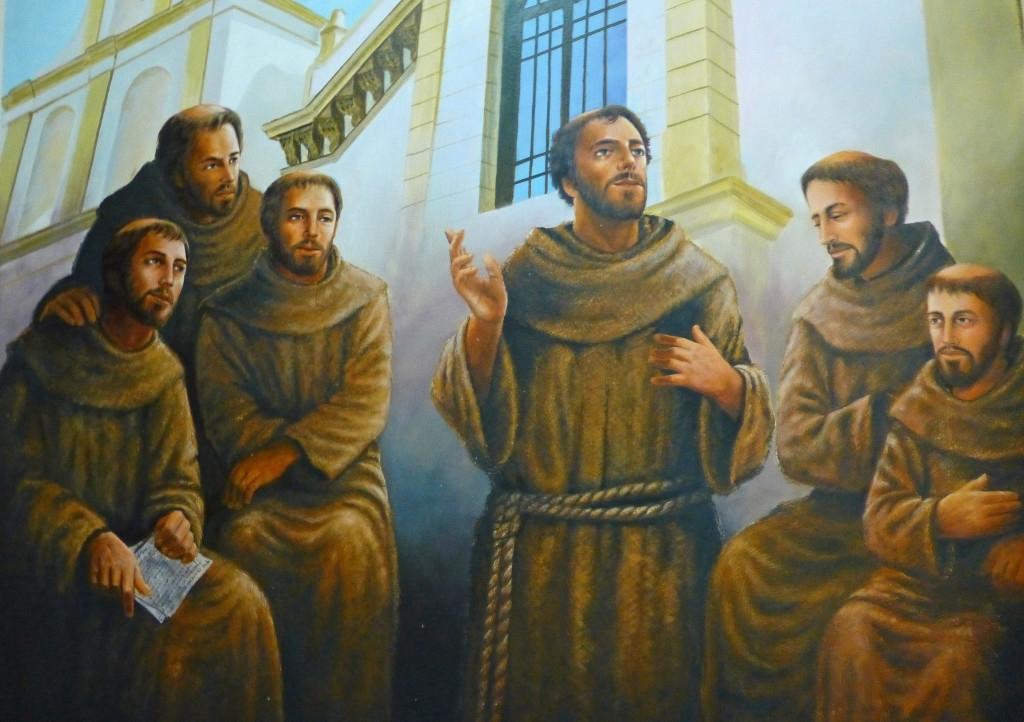 Francisco de Asís y sus primeros compañeros