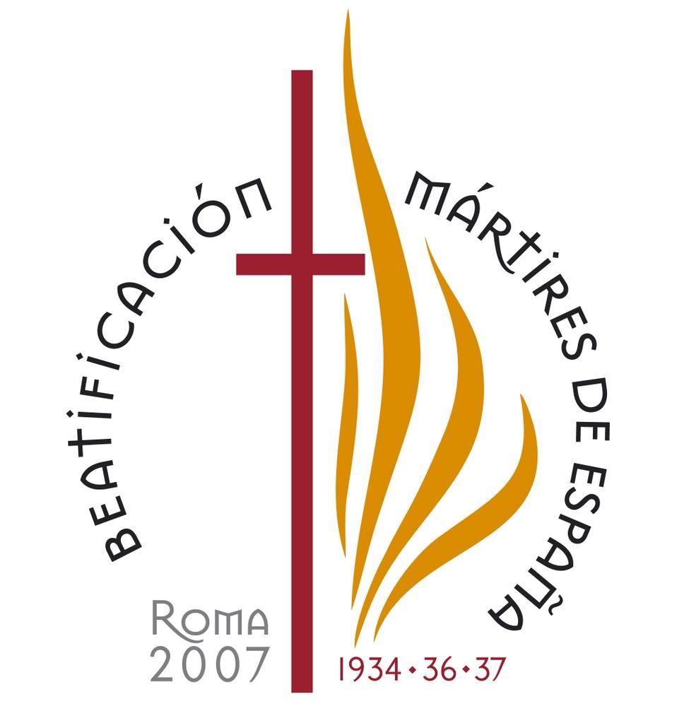 Logotipo de los Mártires de España del siglo XX