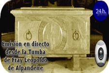 Webcam de la Cripta de Fray Leopoldo de Alpandeire