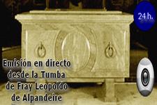 Webcam de la Cripta de Fray Leopoldo de Alpandeire