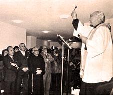 El Ministro General de los Capuchinos, P. Pascual Riwalski, inaugura el Hogar Fray Leopoldo en Granada