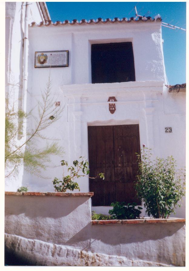 Casa donde nació Fray Leopoldo