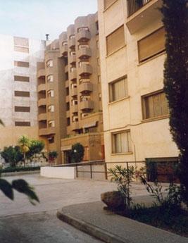 Hogar - Residencia. Vista desde el patio