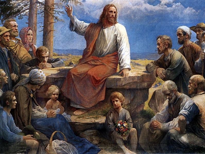 Sermón del Monte. 1912. Rudolf Yelin