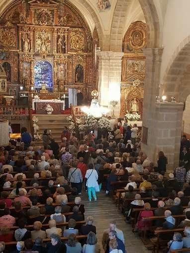 Interior de la iglesia de Otero de Sanabria