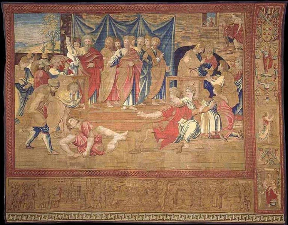 La muerte de Ananías