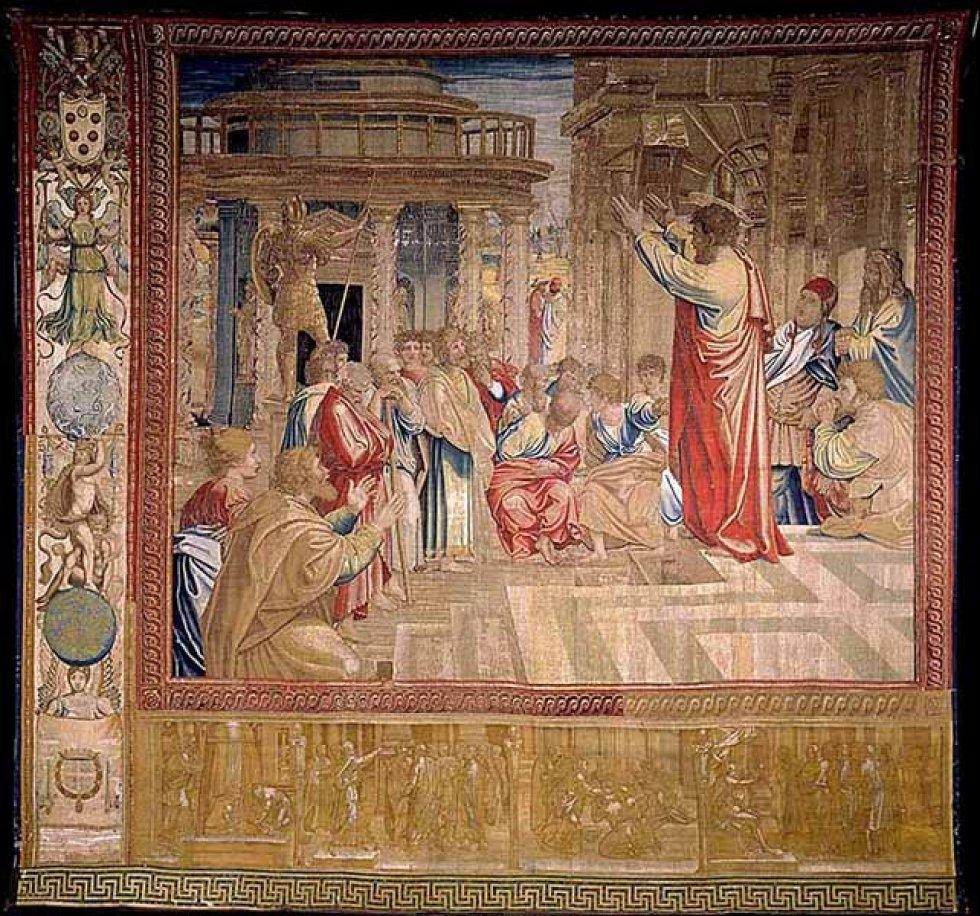 San Pablo predicando en Atenas