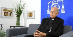 El Cardenal Ricardo Blázquez, arzobispo de Valladolid y expresidente de la CEE