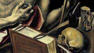 El Greco. Detalle de san Jerónimo