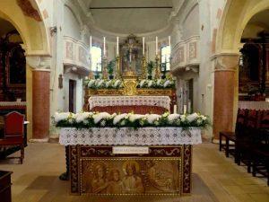 Iglesia de Marola donde reposan los restos del Beato Rolando