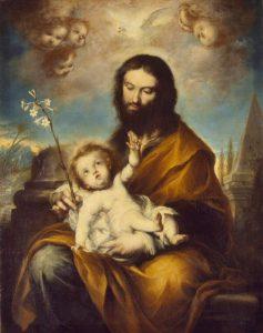 San José con el Niño. Clemente Torres. Hermitage