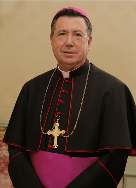 D. Juan del Río, Arzobispo Castrense de España