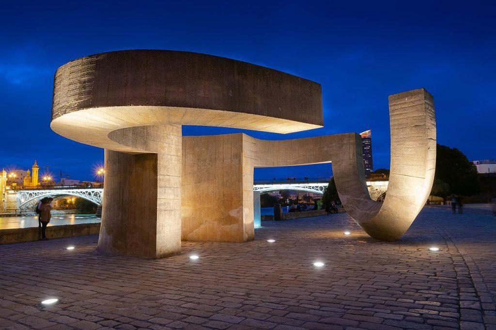 Monumento a la Tolerancia de Eduardo Chillida