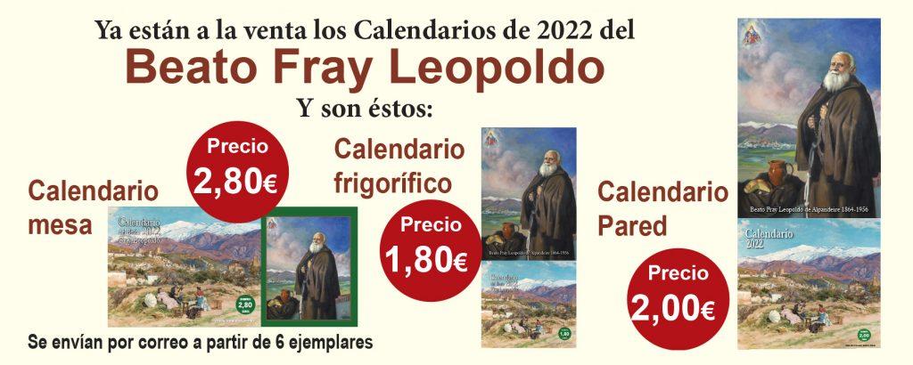 Calendarios de Fray Leopoldo de Alpandeire para 2022