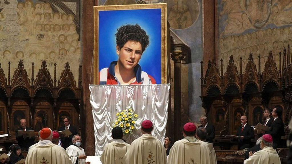 Beatificación en Asís del Beato Carlos Acutis