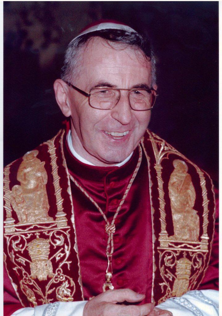 Juan Pablo I. El Papa de la sonrisa