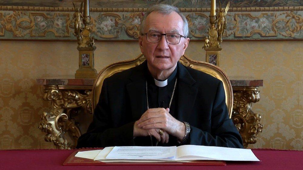 Videomensaje del cardenal Parolín a las Naciones Unidas
